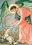 5. Angel with Lamb