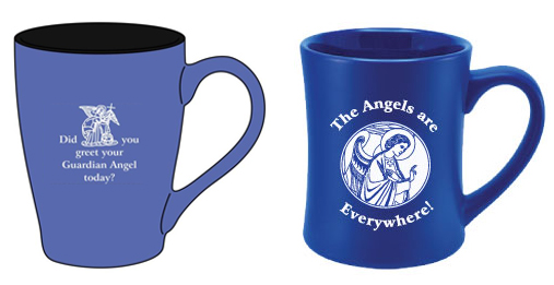 Guardian Angel / All the Angels - Set of Mugs